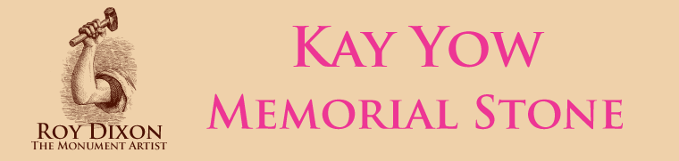 Personalized Memorials By Roy Dixon - Banner